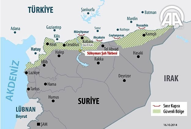 How Russia Has Thwarted The US Plan For A NoFlyZone In Syria - Us no fly zones map