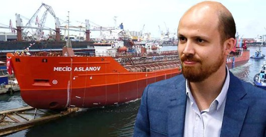 bilal-erdogan-son-and his-petrol-boat