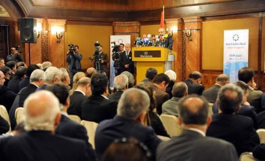 Information Minister Omran al-Zoubi-1