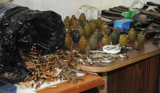 Large Terrorists Munition Depot Near Hama