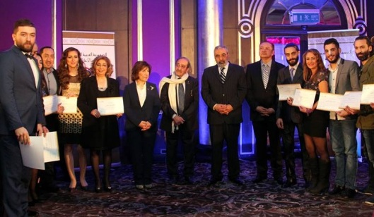 Omran al-Zoubi honors journalists-09