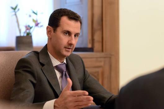 President al-Assad to French magazine Valeurs Actuelles-2