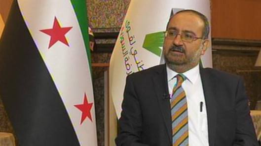 prime minister of the Syrian opposition Ahmad Tumeh