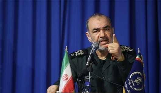 Revolution Guards Corps -IRGC- Brigadier General Hossein Salami