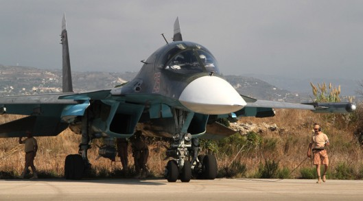 Image: Russia is already legally operating in Syria, under invitation by the Syrian government itself. The US has no such authorization from Syria, or the UN, and its activities in Syrian airspace and on Syrian soil are illegal. As such, the Russians and their Syrian counterparts have no obligation to avoid operating in areas the US is attempting to create defacto