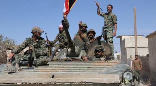 SAAF enter the city of Atshan in the Hama province-RIA Novosti