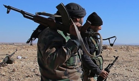 Syrian army and popular forces