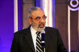 Syrian Information Minister Omran al-Zoubi honors journalists (11)