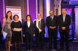 Syrian Information Minister Omran al-Zoubi honors journalists (12)