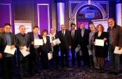 Syrian Information Minister Omran al-Zoubi honors journalists (14)
