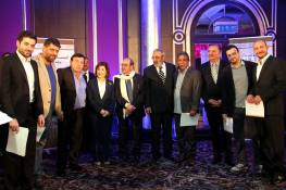Syrian Information Minister Omran al-Zoubi honors journalists (16)
