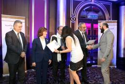 Syrian Information Minister Omran al-Zoubi honors journalists (17)