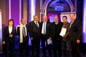 Syrian Information Minister Omran al-Zoubi honors journalists (2)