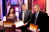 Syrian Information Minister Omran al-Zoubi honors journalists (4)
