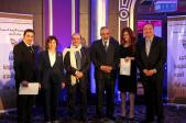 Syrian Information Minister Omran al-Zoubi honors journalists (5)