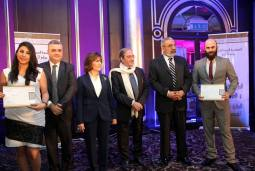 Syrian Information Minister Omran al-Zoubi honors journalists (8)