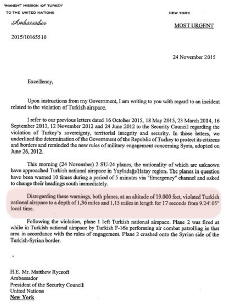 17 seconds that changed the world leaked letter exposes turkeys emergency nato meeting this afternoon new information has come to light first theres ankaras letter to un secretary general ban ki moon and the 15 altavistaventures