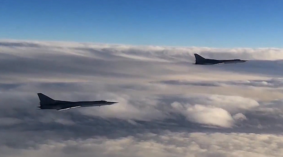 Russian Tu-22 MZ strategic bombers
