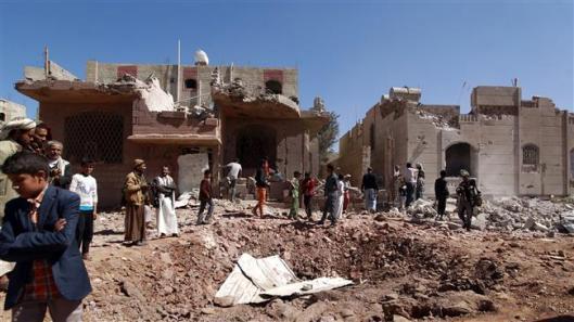 Saudi aerial raids
