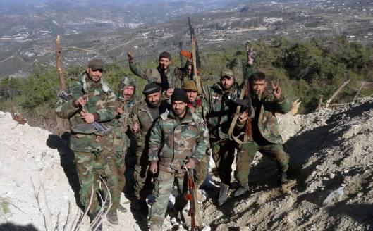 Syrian Arab Army control Nuba Mountains-North-Lattakia-1