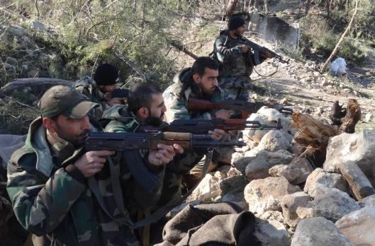 Syrian Arab Army control Nuba Mountains-North-Lattakia-5