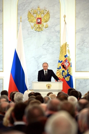 Vladimir Putin delivers his annual Presidential Address to the Federal Assembly-7