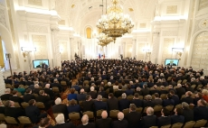 Vladimir Putin delivers his annual Presidential Address to the Federal Assembly-8