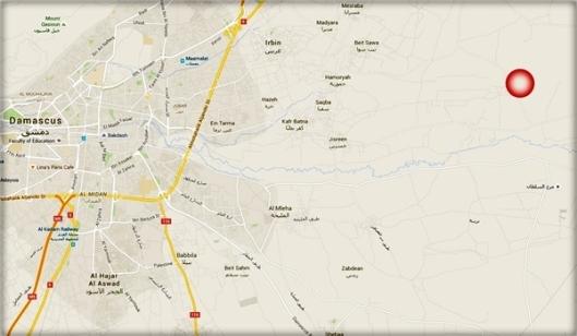 Zahran Alloush-killing-map