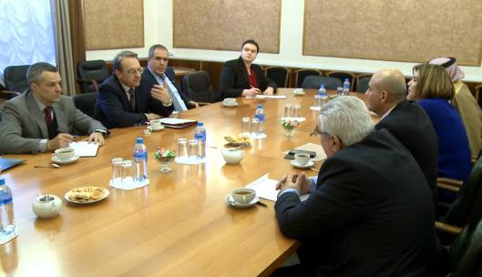 Bogdanov meets a delegation of Syrian national opposition in Moscow