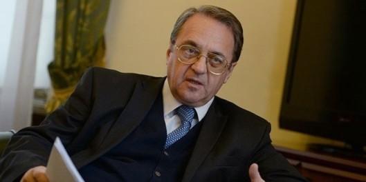 Deputy Foreign Minister Michael Bogdanov