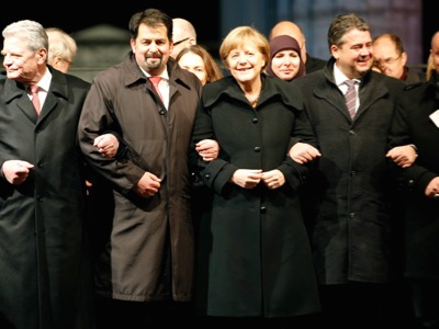 In January 2015, Chancellor Angela Merkel demonstrated for tolerance and against terrorism, arm in arm with Aiman Mazyek, the General Secretary of the Central Council of Muslims in Germany. In reality, he is one of the leaders of the Muslim Brotherhood.