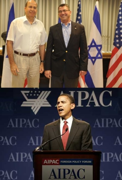Moshe Yaalon-Ashton Carter-Barak Obama