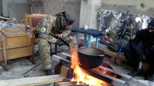 NATO-puppet Azov Battalion Wears Daesh Insignia-12