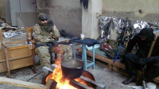 NATO-puppet Azov Battalion Wears Daesh Insignia-13