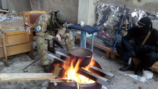 NATO-puppet Azov Battalion Wears Daesh Insignia-14