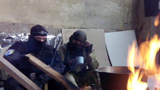 NATO-puppet Azov Battalion Wears Daesh Insignia-15