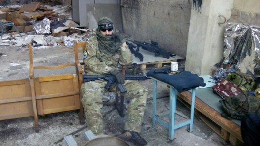 NATO-puppet Azov Battalion Wears Daesh Insignia-9