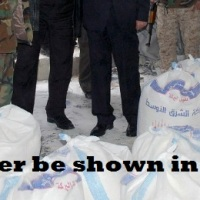 PROPAGANDA of WAR ~ Anglo-American media-propaganda accuses the government of Bashar al-Assad to starve his own people, while instead are their 'moderate terrorists' smuggling and selling the foodstuffs, intended for the Syrian people, on the Turkish black market: with the evidence