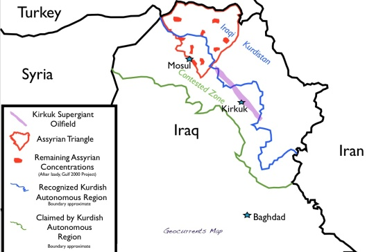 TheAssyrians-map