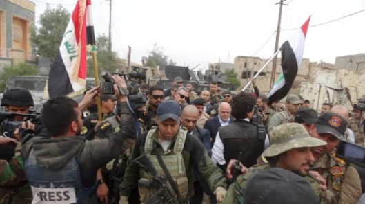 tribes entered the city of Ramadi