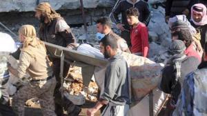 Doctors Without Borders was hit in Maarat al-Numan