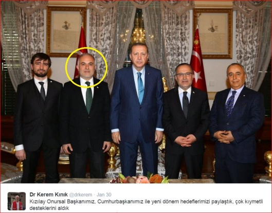 Dr Kerem Kınık-Erdogan-Twitts-yel