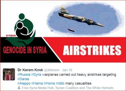 Dr Kerem Kınık-White Helmets Propaganda