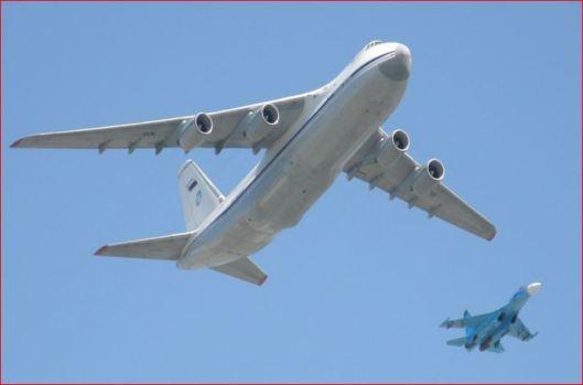 Russian Antonov-124 cargo plane-1