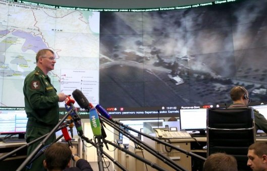 Russian Defense Ministry spokesman Igor Konashenkov