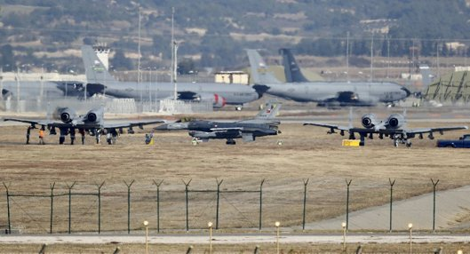 Saudi Arabia is deploying warplanes to the Turkish Incirlik base