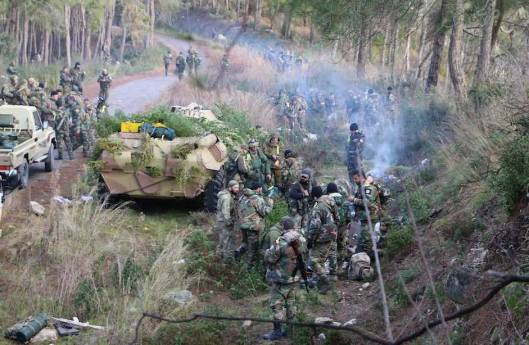 Syrian Arab Army 103rd Brigade-Latakia