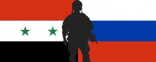 syrian-soldier-russian-flags