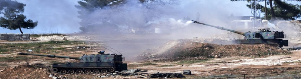 Turkish tanks fire towards Syria border-990x260