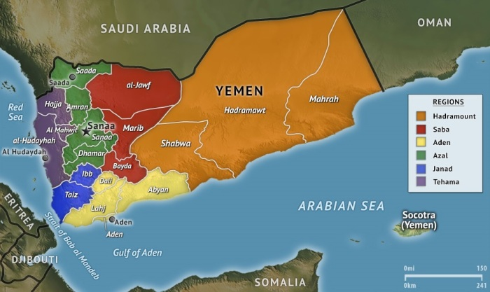 yemen-regional-map